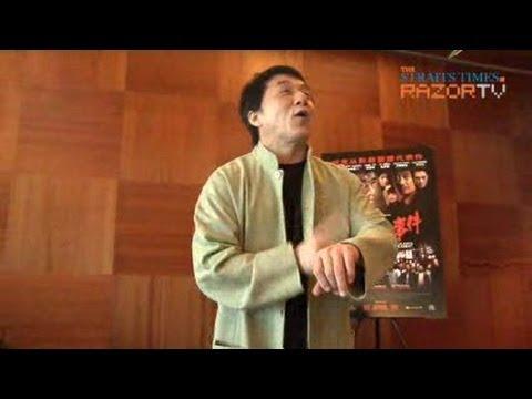 Jackie Chan meets the real Yakuza in Shinjuku