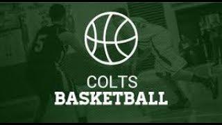 Colts Basketbell vs Medina 1 7 18