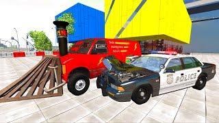 Мультики про #машинки - Машины монстры на дорогах| Полицейская погоня - Самые новые Мультфильмы 2017