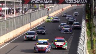 Loeb and Lopez win in Marrakech - Citroën WTCC 2014