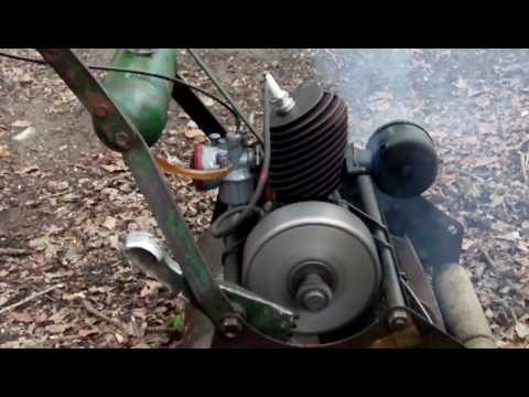 Atco Villiers Cylinder Mower Youtube