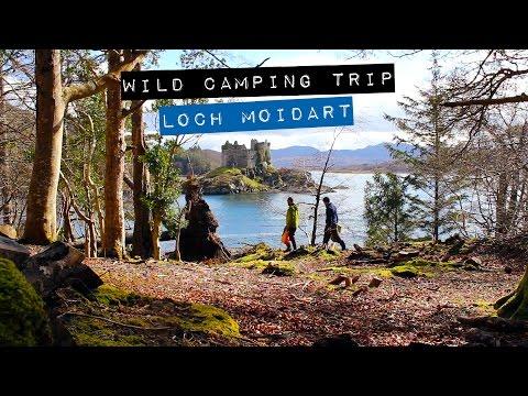 Wild Camping - Loch Moidart - Scottish Highlands