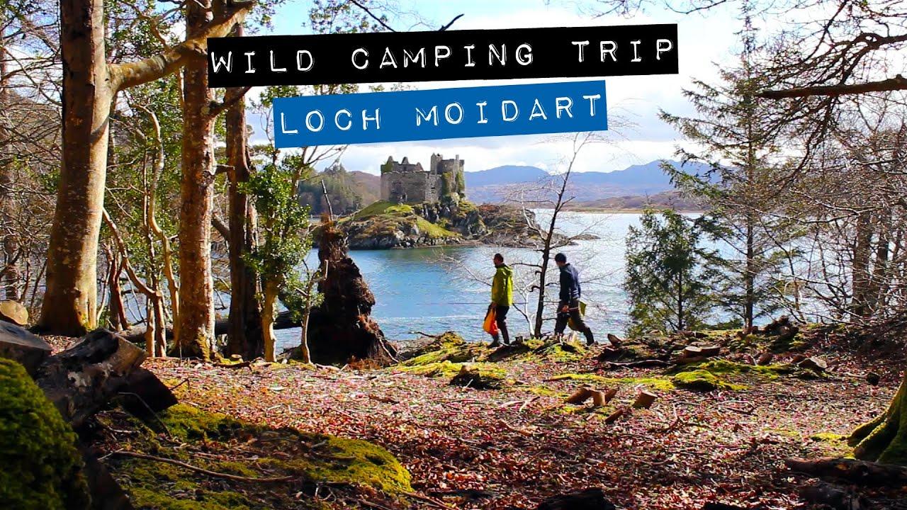 Wild Camping - Loch Moidart - Scottish Highlands - YouTube