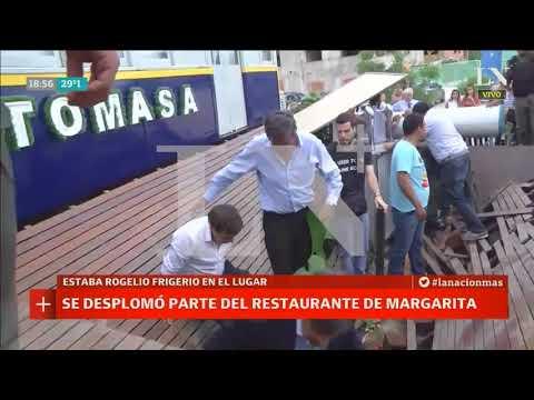 Tras la inauguración, se desplomó parte del restaurante de Margarita Barrientos - Café de la Tarde