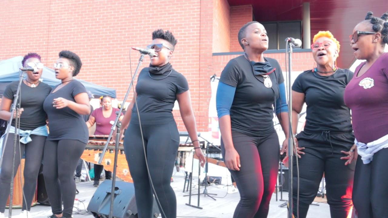 Download Nomzamo Winnie Madikizela Manadela by Abafazi Bengoma @ the NAC