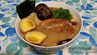 traditional tonkotsu ramen