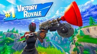 EPIC GRAPPLING HOOK WIN! In Fortnite Battle Royale