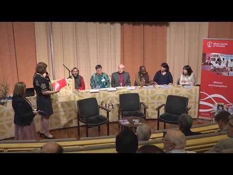 WCC Arusha Report Launch - Helsinki (new)