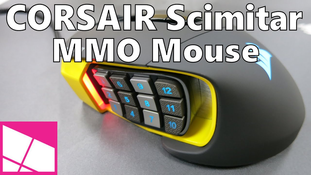 Corsair Scimitar MMO Gaming Mouse review