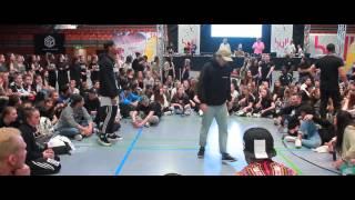 sydney amoo vs chy kin huynh   solo battle adults   taf deutsche hip hop meisterschaft 2016