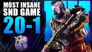 The MOST INSANE BO4 SnD Game... - Super Aggressive Rushing