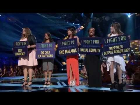 Malaria Free World's thanks to Rachel Platten's FIGHT song at the FOX Teen Choice Awards 2015!