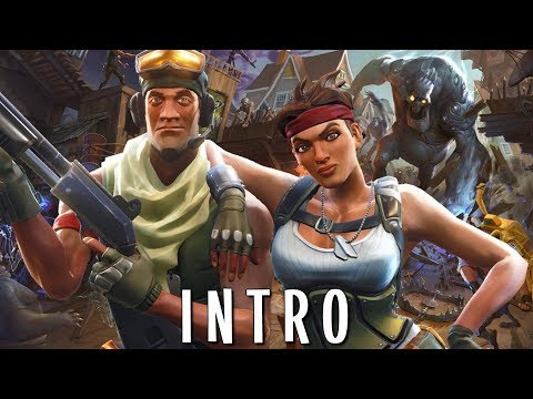 "FORTNITE ""SAVE THE WORLD"" STORY MODE CAMPAIGN Walkthrough Gameplay - INTRO"