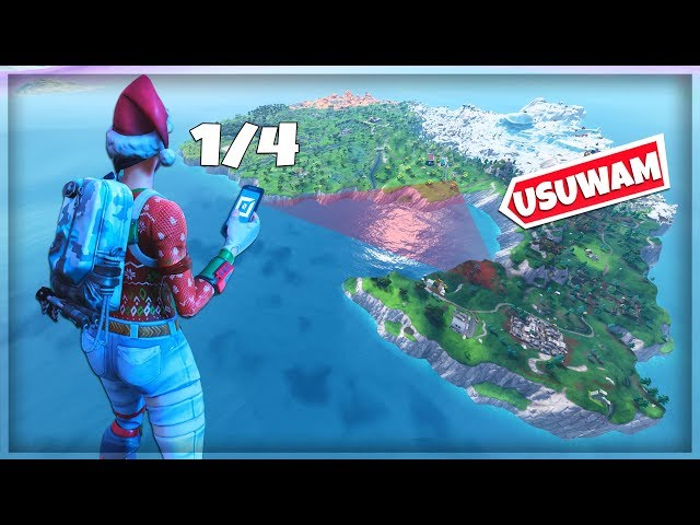 ? USUN?LI?MY MAP? G?ÓWN? - TRYB KREATYWNY - Fortnite Battle Royale