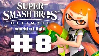 INKLING BROUGHT HER SUPERSOAKER TO THE PARTY! - Super Smash Bros Ultimate World of Light #8