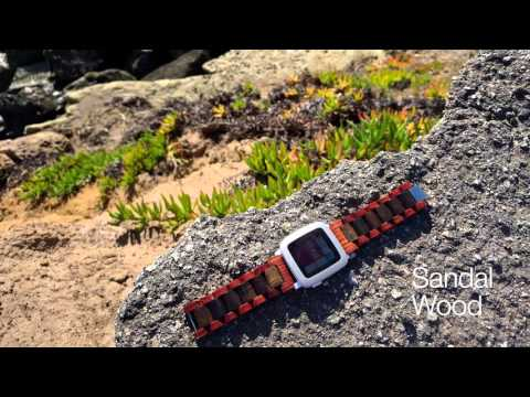 Ottm: Wooden bands for Apple Watch, Android Wear, Pebble