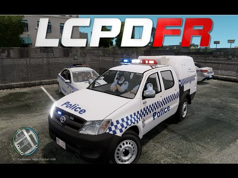 GTA IV : LCPDFR 1.0 - Australian Police Patrol