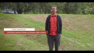 """Zientzialari (120) Aitor Larrañaga: """"Eukaliptoa hazkuntza azkarreko espeziea da"""""""