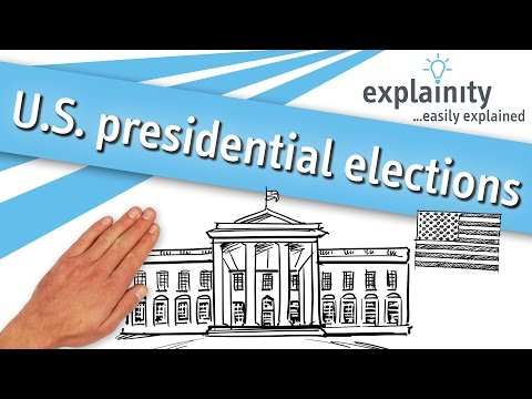 U.S. presidential elections 2012 easily explained (explainity® explainer video)