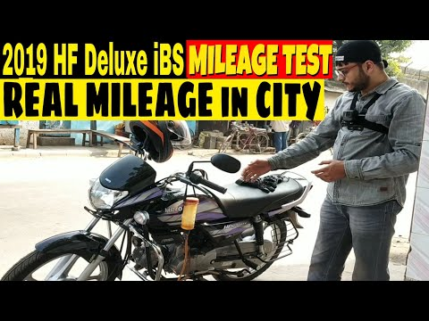 2019 HERO HF Deluxe iBS|REAL MILEAGE TEST|MotoMad