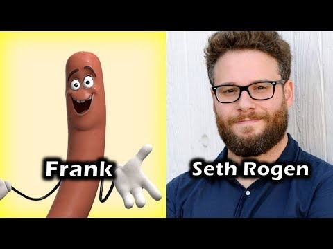 Characters and Voice Actors - Sausage Party