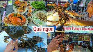 Xuất hiện quán Hải Sản cao cấp bán Tôm Hùm Canada, King Crab Ốc Vòi Voi ở Ngoại ô SG | Minh Tâm Quán