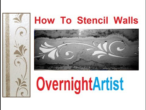 wall-stencils---how-to-wall-stencil-easy-step-by-step