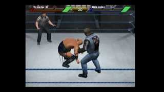WWE Wrestlemania X8 Gamecube Gameplay-HHH Vs Rikishi