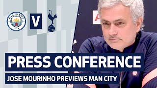 JOSE MOURINHO PRESS CONFERENCE | Man City v Spurs | Premier League