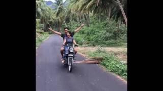 Gautham Karthik |  Priya Anand  Bike Ride