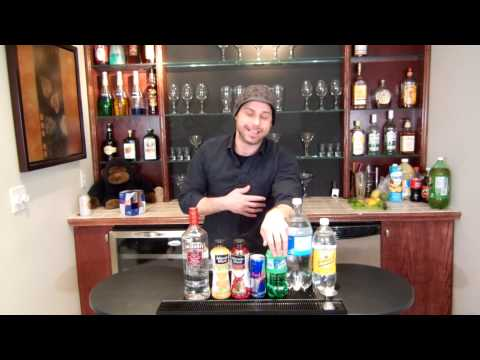Bartending Basics - Vodka Well Drinks | Rail Drinks with Vodka