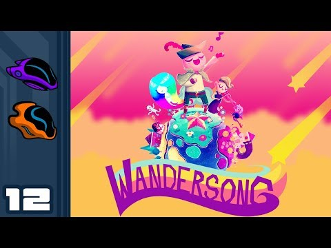 Let's Play Wandersong - PC Gameplay Part 12 - Ghost'b'Gone