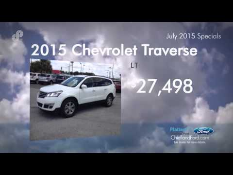 Plattner's Cheifland Ford July 2015 Used Car Offers