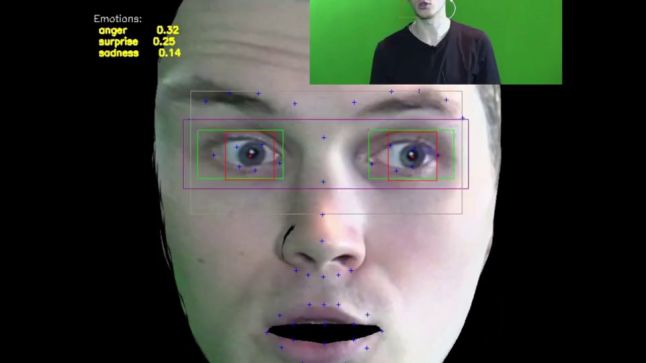 (Deep Learning) Eye Tracking / Emotion Recognition App