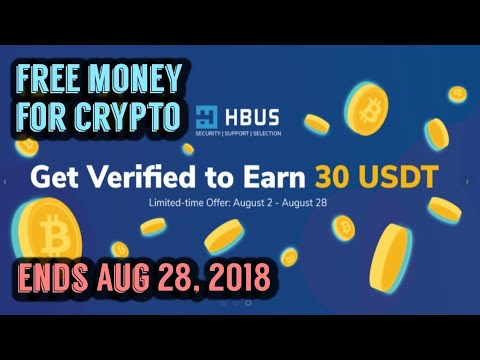 Free $30 USDT from HBUS - Get Verified and Earn $30 USDT (Airdrop/Giveaway)