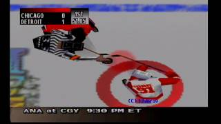 NHL Breakaway 99 - Season Mode (Detroit Red Wings)