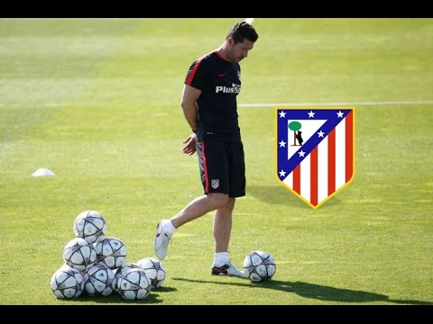 Atletico Madrid Soccer Possession Drill