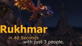 Fastest Rukhmar Kill (3 Person Kill) (Old)