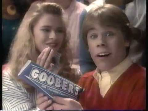 1986 Nestle Goobers candy commercial.