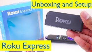 Roku Express Unboxing and Setup