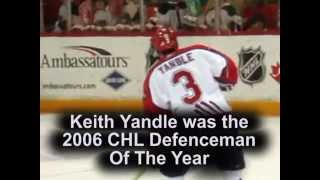 Wildcat Moment - Keith Yandle is 2006 CHL Dman of the Year
