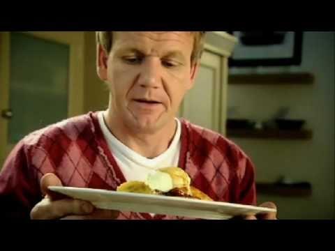 Scotch Pancakes with Caramelised Banana Gordon Ramsay