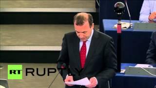 France: German MEP Weber booed after blasting Tsipras in European Parliament