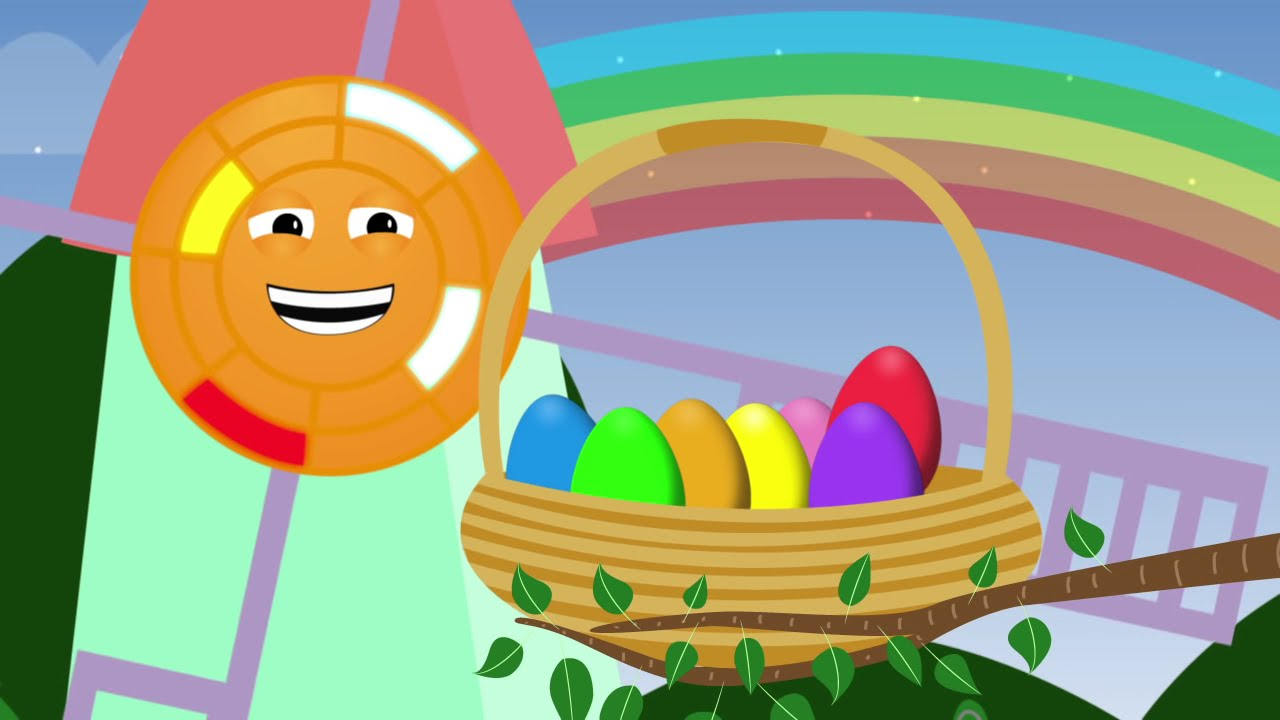 Animated surprise easter eggs for learning colors part iv - What are the easter colors ...
