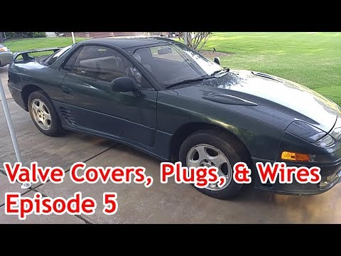 Mitsubishi 3000 GT - 1992 Classic -  Episode 5 - Valve Covers, Fuel Inj.,  Plugs & Ignition Wires