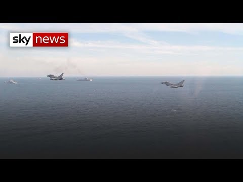 Royal Navy responds to Russian threat