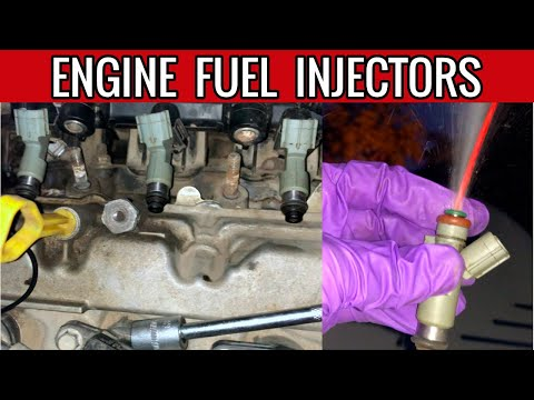 ENGINE FUEL INJECTORS | CLEAN TO RESTORE POWER TORQUE MILEAGE OF CAR | HOW TO OPEN ALTO K10 SWIFT