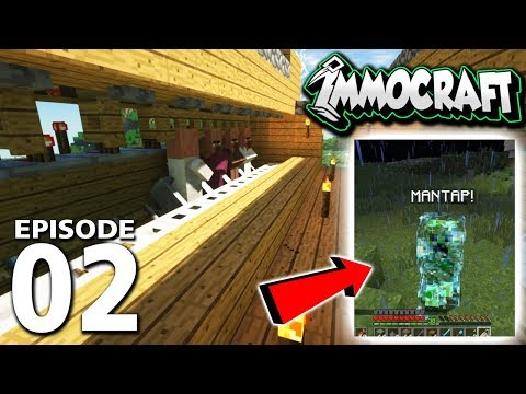 IMMOCRAFT | Eps. 2 | CHARGED CREEPER & TRADE STATION!