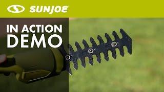 HJ604C - Sun Joe Hedger Joe 7.2 V Cordless 2-In-1 Grass Shear + Hedge Trimmer - Live Demo