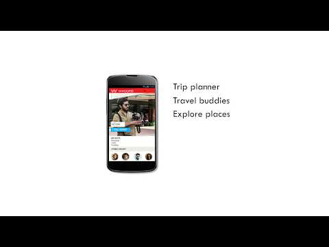 Whoopee - The perfect travel app for you